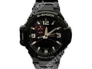 Casio G-Shock GA-1000-1A Aviation Series Men's Quality Watch - Black / One Size