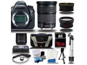 Canon EOS  6D DSLR Camera + 24-105mm IS STM Lens + 16GB + 16 PCS Starter Bundle Kit - NEW