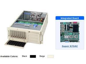 Supermicro SYS-7045A-TB 4U Black Server with X7DAE Motherboard
