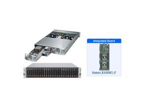 SuperMicro SYS-2028TP-DECR 2U Server with X10DRT-P Motherboard
