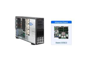 Supermicro SYS-8045C-3RB Tower / 4U Server with X7QC3 Motherboard