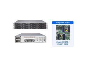 Supermicro SSG-6027R-E1R12L 2U Storage Server with X9DRD-7LN4F-JBOD Motherboard