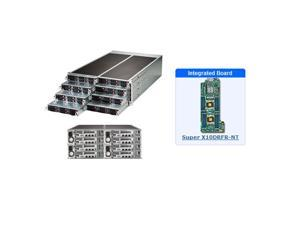 Supermicro SYS-F618R2-RC0PT+ 4U Server - 8 Hot-plug System Nodes