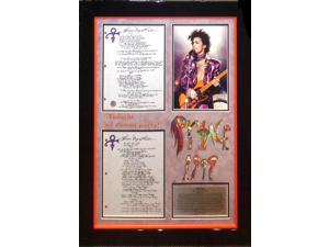 Prince Handwritten and Signed Lyrics 1999 - with dual COA
