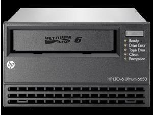 EH964A - HP StoreEver LTO-6 Ultrium 6650 SAS External Tape Drive