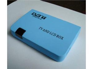 Digital TV Box LCD VGA/AV Tuner DVB-T Terrestrial FreeView Receiver