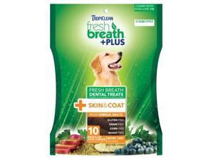 Fresh Breath Plus Dental Treats Skin & Coat,  Color: Green, Size: Large/20 ounce