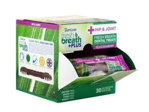 Fresh Breath Plus Dental Treats Hip & Joint Cube,  Color: Green, Size: 2.5 pounds