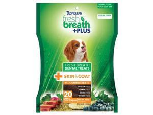 Fresh Breath Plus Dental Treats Skin & Coat,  Color: Green, Size: Small/20 ounce