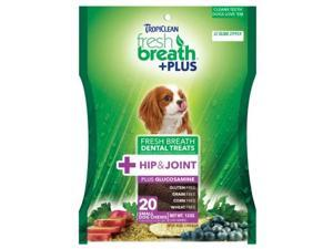 Fresh Breath Plus Dental Treats Hip & Joint,  Color: Green, Size: Small/20 ounce