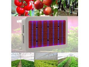 New 600W Full Band Spectrum LED Grow Light UV + IR Hydroponic Lamp