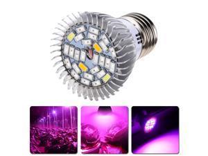LVJING®  NEW  28W E27 28 LED Plant Grow Light Efficient Hydroponic Full Spectrum Growing Lamp Bulb