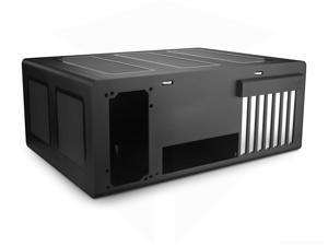 Streacom F12C Black Chassis Premium Grade All Aluminium, 4mm Thick Extruded Panels