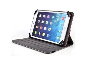 Kroo Zebra DigiLand DL 7 D700D Universal Folio Tablet Case with Rotation