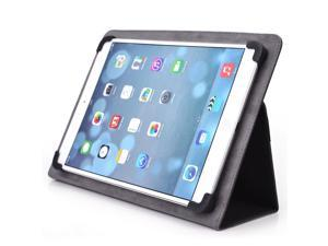 """Kroo Black 10"""" Trio Stealth G2 Universal Tablet Case with Silicon Clamps and Stand"""