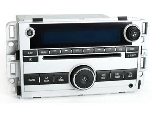 Chevy Equinox 2007 Radio AM FM CD Player w Aux mp3 Input US8 15293276 - UNLOCKED