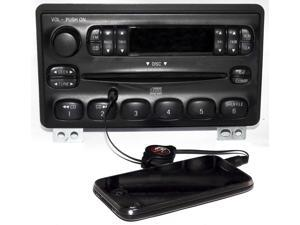 Ford Mercury 01-05 Explorer Radio AM FM CD Player w Aux MP3 Input 4L2T-18C815-EA