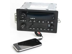 Chevy GMC 2005-2012 Truck Radio AM FM mp3 CD Upgraded w Aux 3.5mm Input 15216905