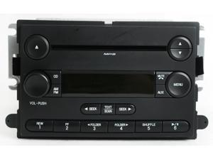 2007 Ford Focus Radio AM FM mp3 CD Player - Part Number 7S4T-18C869-AB