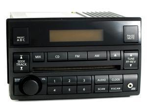 Nissan Altima 2005-06 Radio AM FM CD Player w Aux Input Spd Vol Ctrl 28185ZB10B
