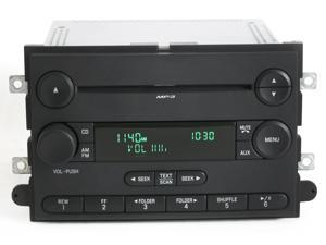 Ford F-150 Pickup 2007-2008 Radio - AM FM mp3 CD Player - Part 7L3T-18C869-BK