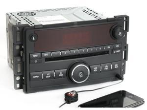 Saturn 2006-2007 Vue Ion AM FM CD Player Radio w Aux mp3 Input U1C Part 15814424