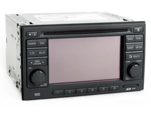 Nissan Versa 2012 Radio AM FM mp3 CD Player w Navigation Part Number 25915ZW84A