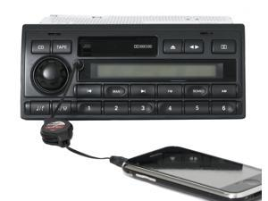 Land Rover Discovery 2003-04 AMFM Cassette Alpine Radio w Aux Input XQD000330PUY