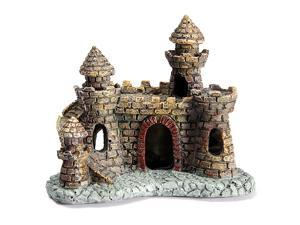 Five Star Inc Castle Tower Aquarium Ornament For Fish Tank Decoration