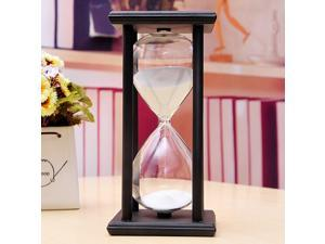 Colorful 30 Mins Wooden Sand Sandglass Hourglass Clock Timer Decor Unique Gift