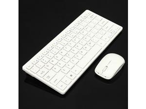 2.4GHz Wireless Keyboard + Cover and Mouse Kit for Desktop Laptop PC Mac Win 7 8