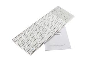 Ultra Slim Wireless Bluetooth 3.0 Keyboard with Touchpad for Windows Android IOS PC