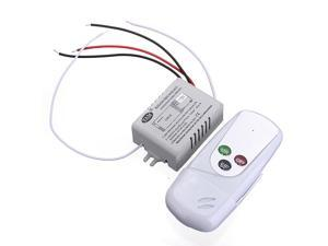 AC 110V 50/60Hz LED Light 1 Way Port Digital Wireless Wall Remote Control Switch ON/OFF NEW