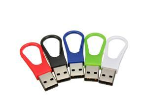 32GB 32G USB 2.0 Keychain Clip Flash Memory Stick Pen Drive Storage Thumb U Disk