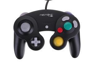 Retrolink Game Pad USB Wired Controller For Nintendo Gamecube NGC PC Mac Controller Black