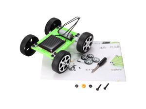 Funny Mini Puzzle IQ Children Educational Solar Car Toy Parts Gadget Hobby DIY Fabulous Gift Present For Kids Children