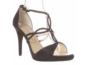 Caparros Nixie Dress Sandals - Black Glimmer, 11 M
