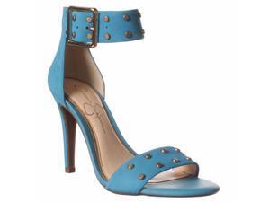 Jessica Simpson Elonna2 Ankle Strap Sandals - Electric Blue, 7.5 M