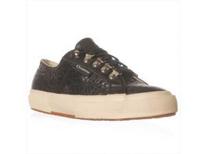 Superga 2752 Carvaggio Fashion Sneaker, Black, 8.5 M US / 39.5 EU
