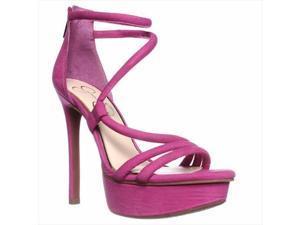 Jessica Simpson Caela Dress Sandal - Ultra Pink, 9 M US / 39 EU