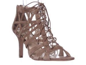 Pour La Victoire Charlize Cut-Out Lace Up Dress Sandals - Cigar, 10 M US