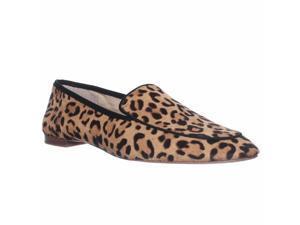 Vince Camuto Eliss Slip-On Loafer Flats - Tan/black, 8.5 M US