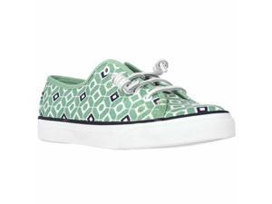Sperry Top-Sider Seacoast Fashion Sneakers - Geo Print Mint, 6 M US / 36 EU