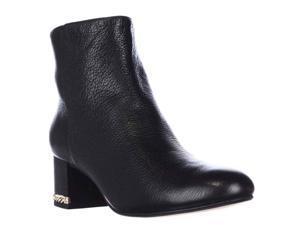Michael Kors Sabrina Mid Chain Heel Booties - Black, 8 M US
