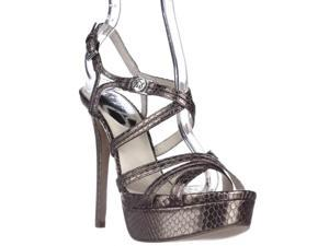 MICHAEL Michael Kors Cicely Platfrom Strappy Sandals - Nickle, 6.5 M US