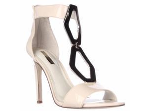 BCBGeneration Cayce Ankle Cuff Dress Sandals - Nude Blush, 7.5 M US / 37.5 EU