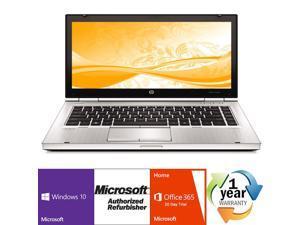 "Refurbished: HP EliteBook 8460p Intel i5 Dual Core 2500MHz 250Gig Serial ATA 4096MB DVD-RW 14.0"" WideScreen LCD Windows ..."