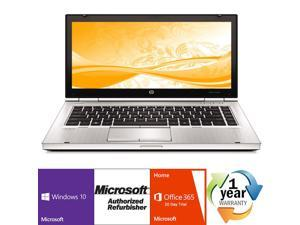 "Refurbished: HP EliteBook 8460p Intel i5 Dual Core 2500MHz 250Gig Serial ATA 4096MB DVD-RW 14.0"" WideScreen LCD Windows ..."