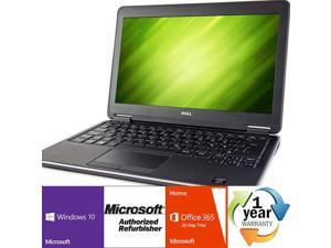"""Dell Latitude E7240 Intel i5 Dual Core 2000 MHz 128Gig HDD 8192MB NO OPTICAL DRIVE 12.0"""" WideScreen LCD Windows 10 Professional 64 Bit Laptop Notebook"""