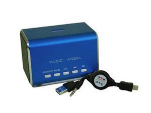 Mini Music Speaker Music Angel Speaker MD05B USB Speaker  for Tablet PC support SD/TF card U-disk FM